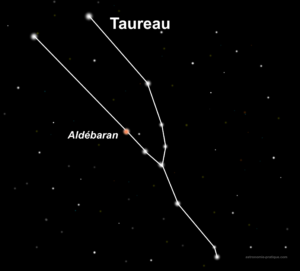 constellation du taureau