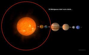 bételgeuse système solaire