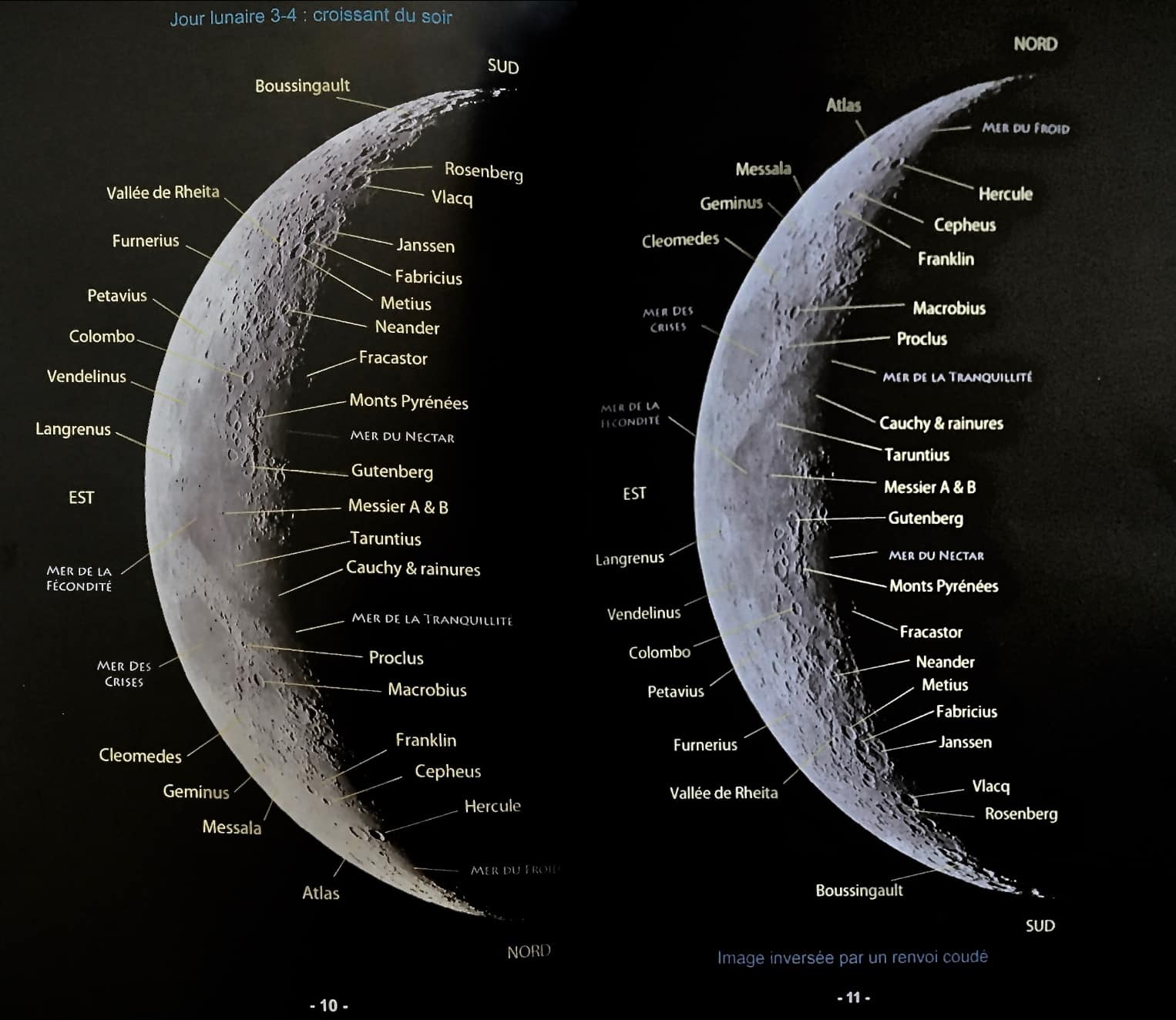 cartes lune