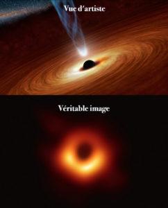 simulation trou noir