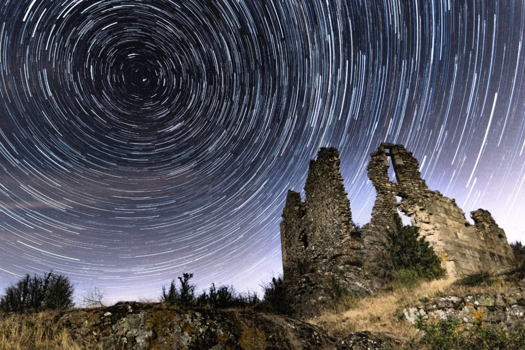 astrophotographie circumpolaire