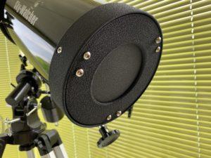 télescope vis tournantes poussantes