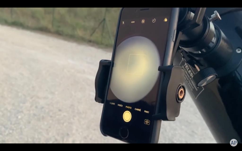 adaptateur smartphone pour télescope