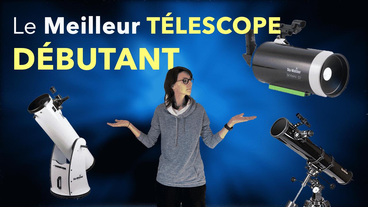 télescope débutant
