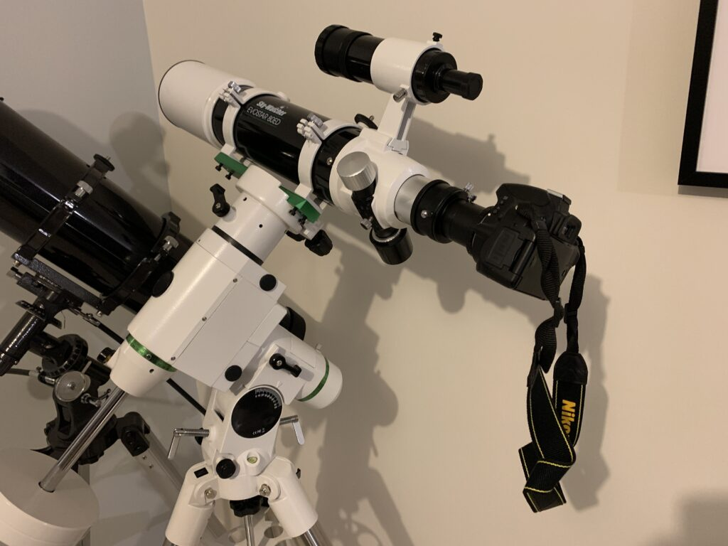 astrophoto au foyer d'un télescope