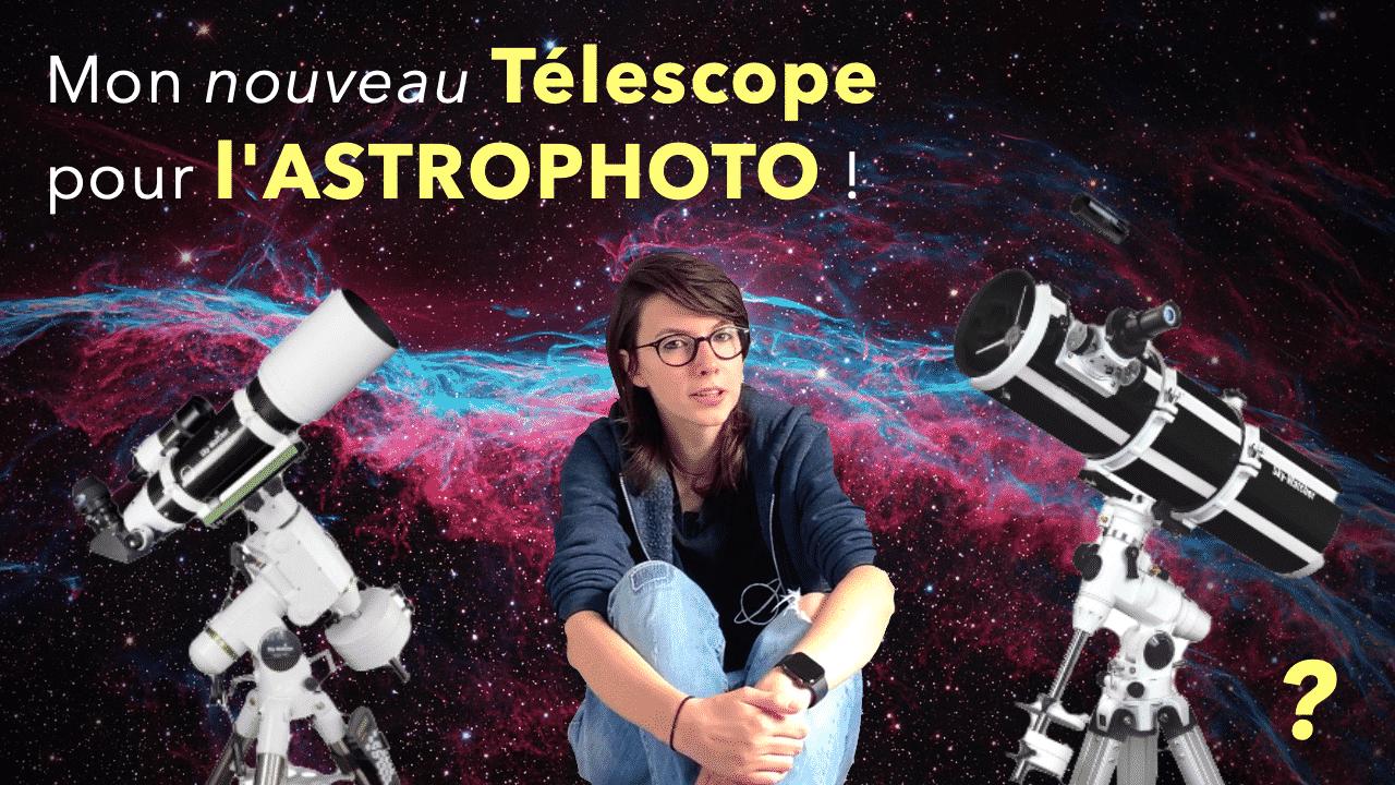 télescope astrophotographie