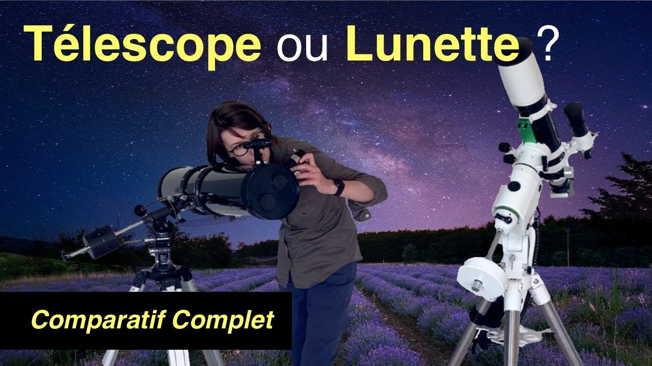 telescope ou lunette astronomique