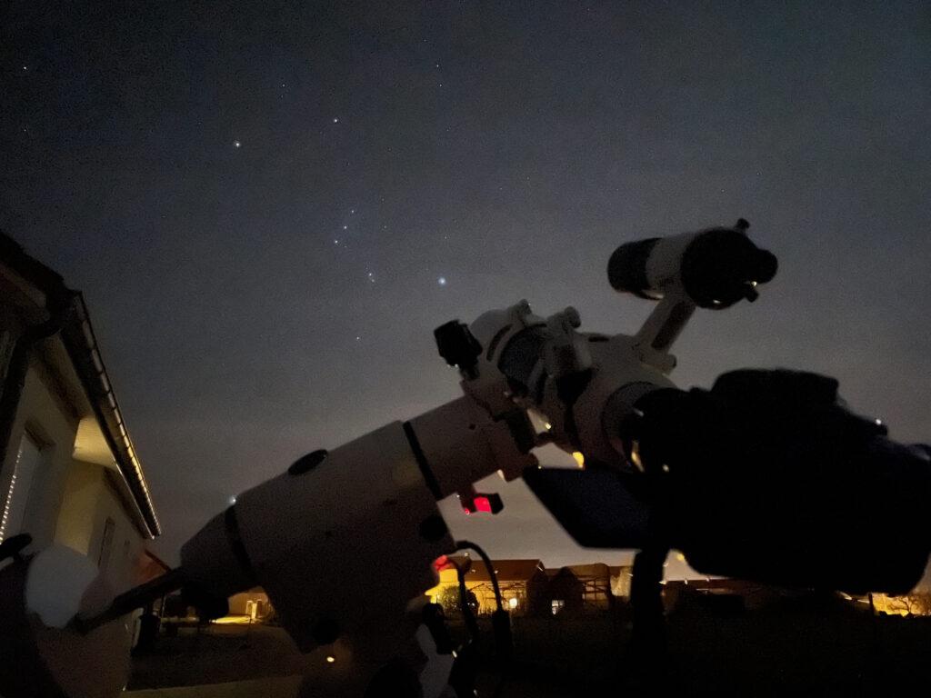 astrophotographie à l'iPhone